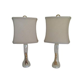 1950s Ceramic Lamps by Aladdin - a Pair