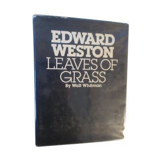 Edward Weston Walt Whitman Leaves of Grass Book