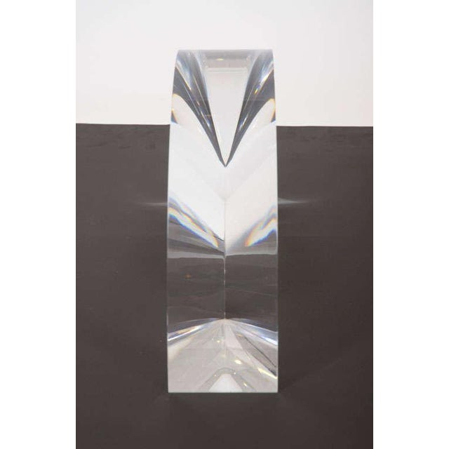 Acrylic Arch Sculpture by Alessio Tasca - Image 5 of 6