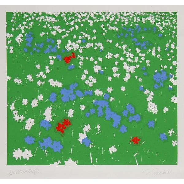 "Image of Nadine Prado, ""Flower Field 5,"" Serigraph"