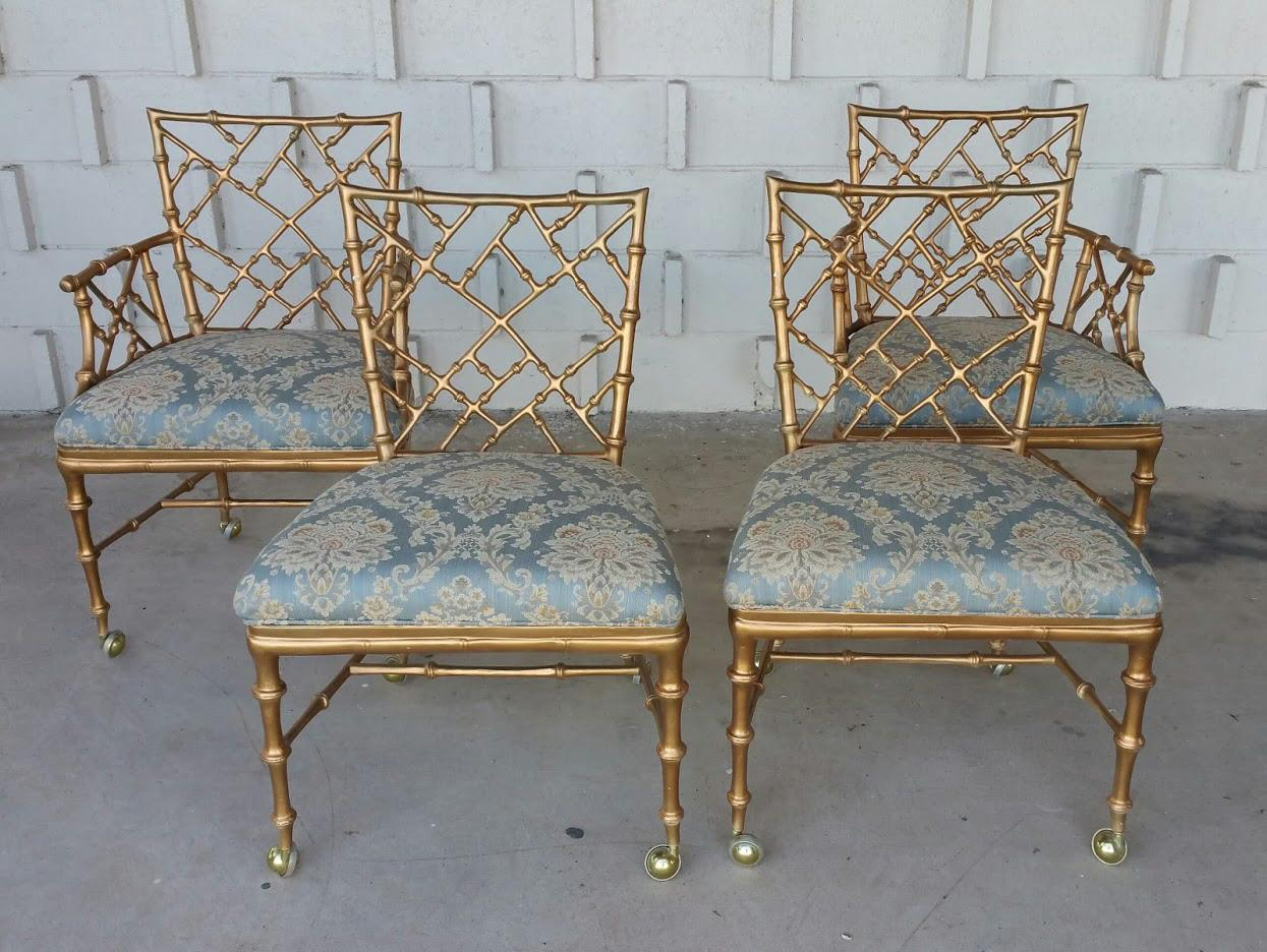 Phyllis Morris Style Chinese Chippendale Chairs  4   Image 3 Of 5