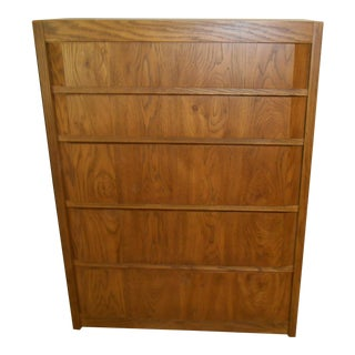 Thomasville Oak Chest of Drawers
