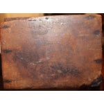 Image of Early 19th Century New England Painted Walnut Pipe Wall Box