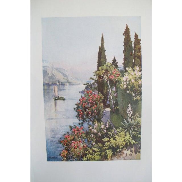 1905 Ella du Cane Print, Villa Giulia, Lago di Como - Image 2 of 5