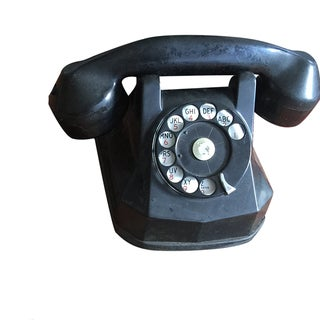 Vintage Rotary Dial Telephone Works!