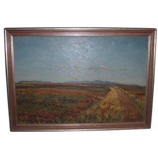 1976 Bartlett Field Landscape Painting