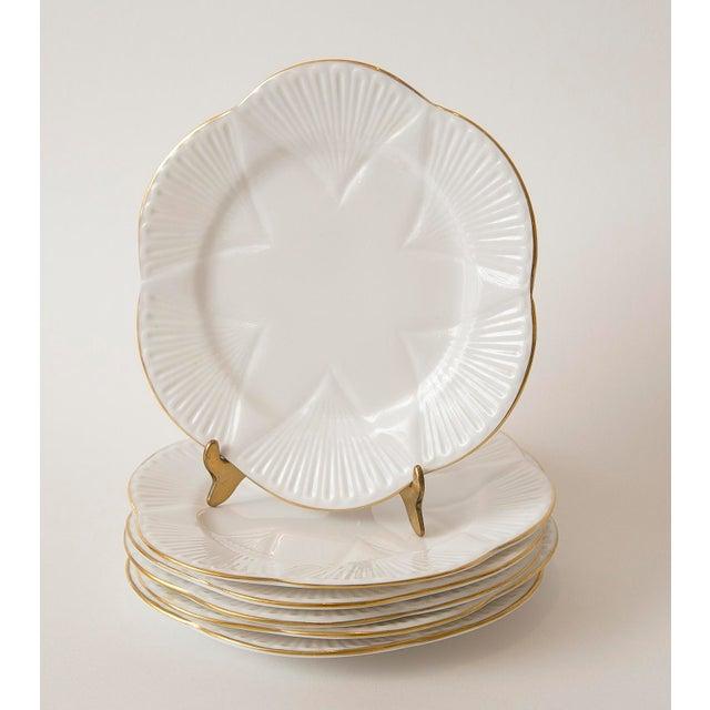 Vintage Shelley Fine Porcelain Dessert Plates -S/6 - Image 2 of 9