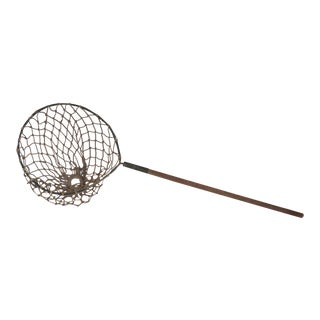 Vintage Nautical Decorative Fishing Net