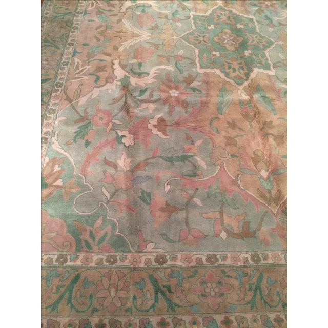 """Pasargad N Y Pastel Colors Tabriz Rug - 8'10"""" X 12' - Image 5 of 6"""