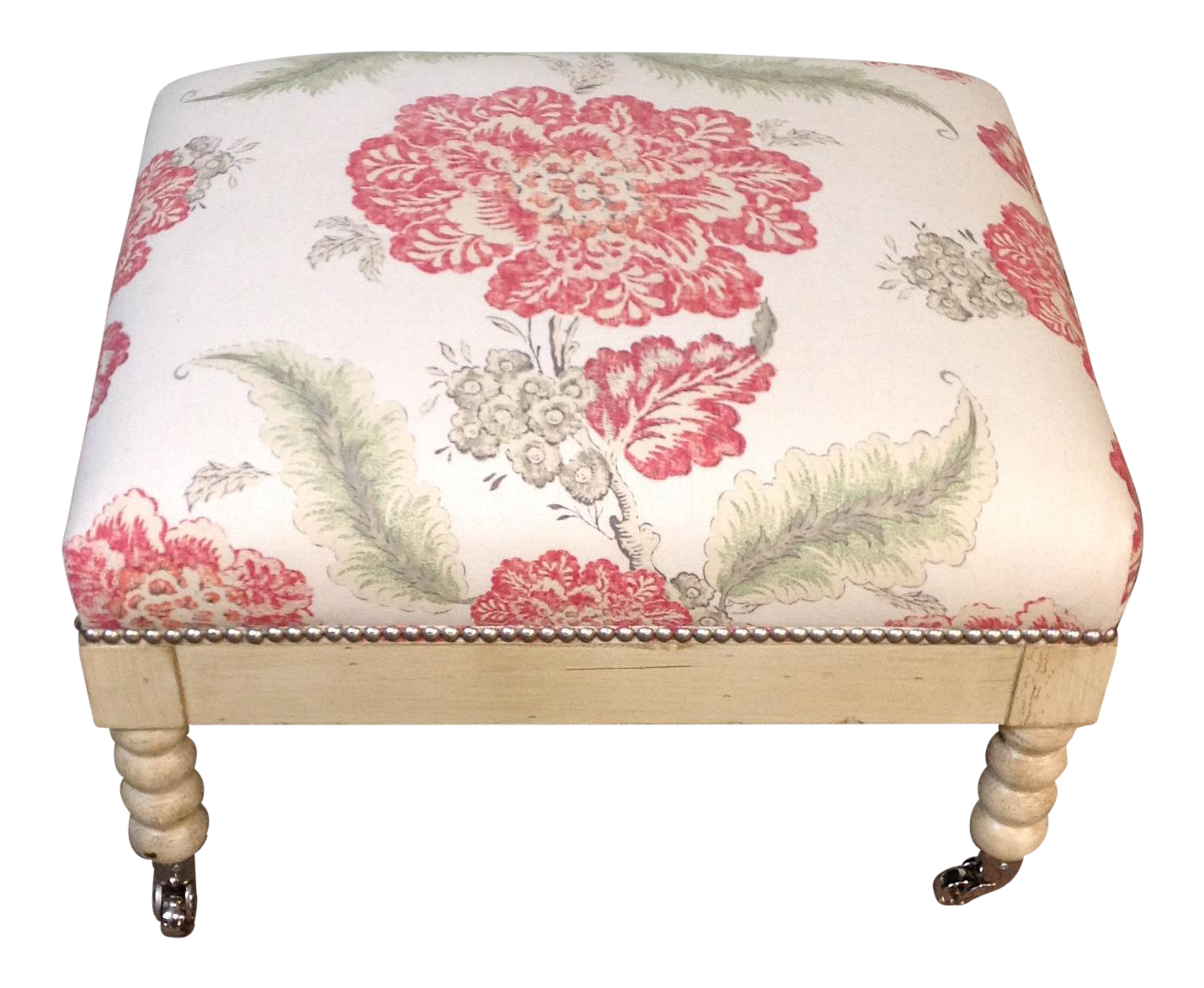 Lillian August Tufted Upholstered Floral Ottoman  sc 1 st  Chairish & Gently Used Lillian August Furniture | Up to 70% off at Chairish azcodes.com