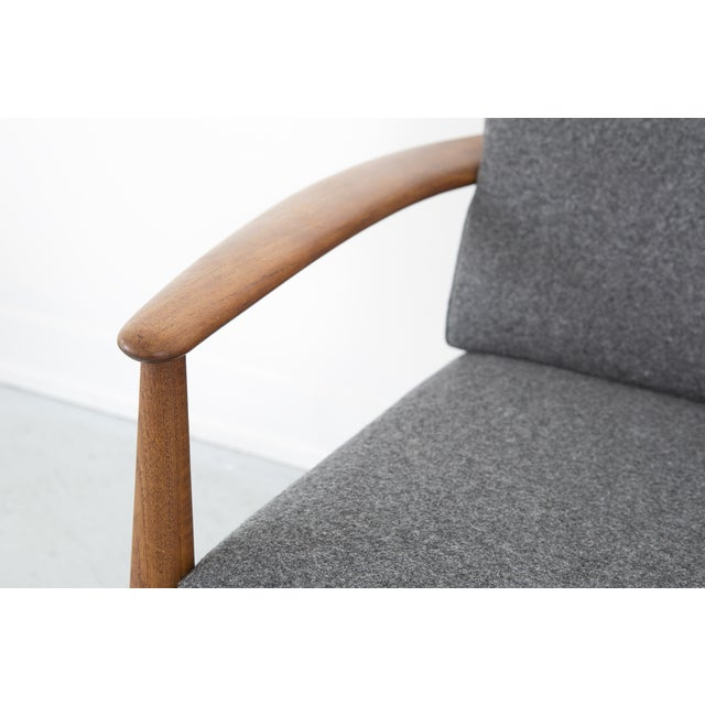 Grete Jalk for France + Daverkosen Teak Wood Sofa - Image 8 of 10