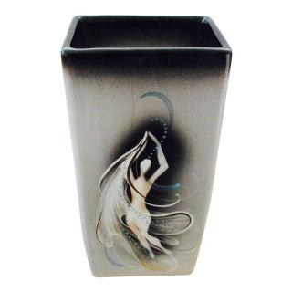 Sascha Brastoff Show Girl Pottery Vase