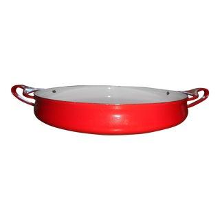 1960s Vintage Dansk Paella Pan