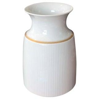 Gold Banded Rosenthal Porcelain Vase