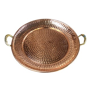 Hammered Coppered Tray