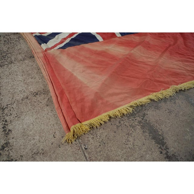 Canadian Red Ensign Original C.1930s Vintage Flag - Image 8 of 10