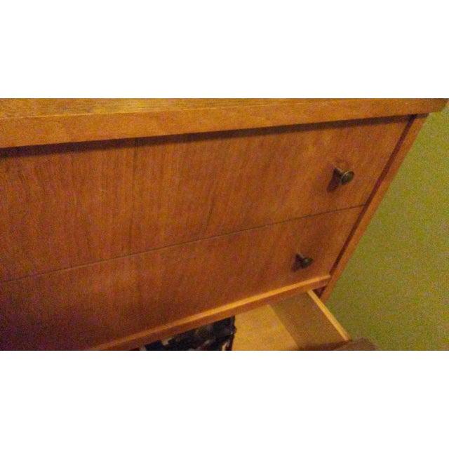Mid-Century Modern Wooden Dresser - Image 5 of 5
