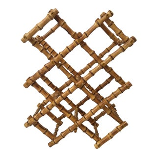 Natural High Gloss Bamboo Wine Rack