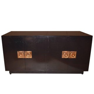 Mid-Century Modern Lacquered Credenza