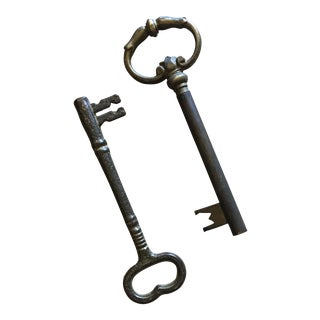 Brass Keys - Set of 2