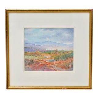 Napa Valley Wine Country Watercolor