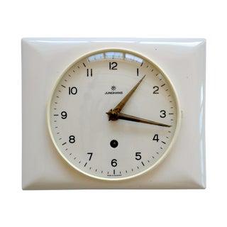 Max Bill for Junghans 1956 Kitchen Clock