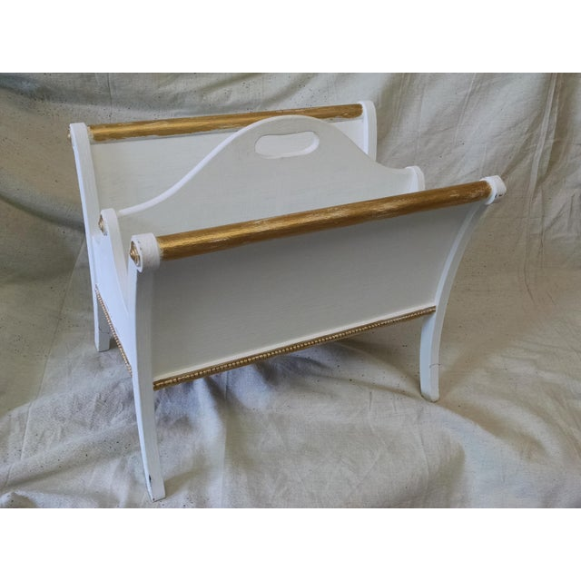 Vintage Mid-Century Magazine Holder - Image 2 of 7