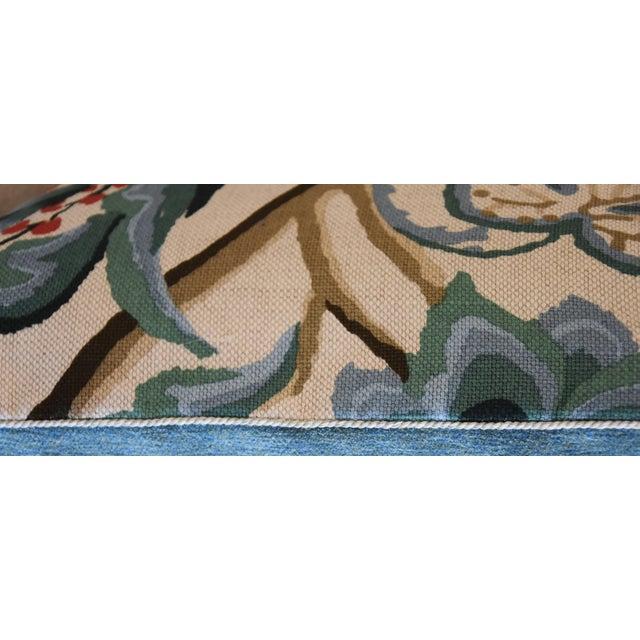 Schumacher Alexandra Floral Velvet Pillows - a Pair - Image 10 of 10