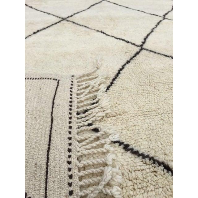 "Image of Harlequin Moroccan Handmade Wool Rug - 10'9"" x 7'2"""