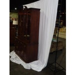 Image of Thomasville Mahogany China Cabinet