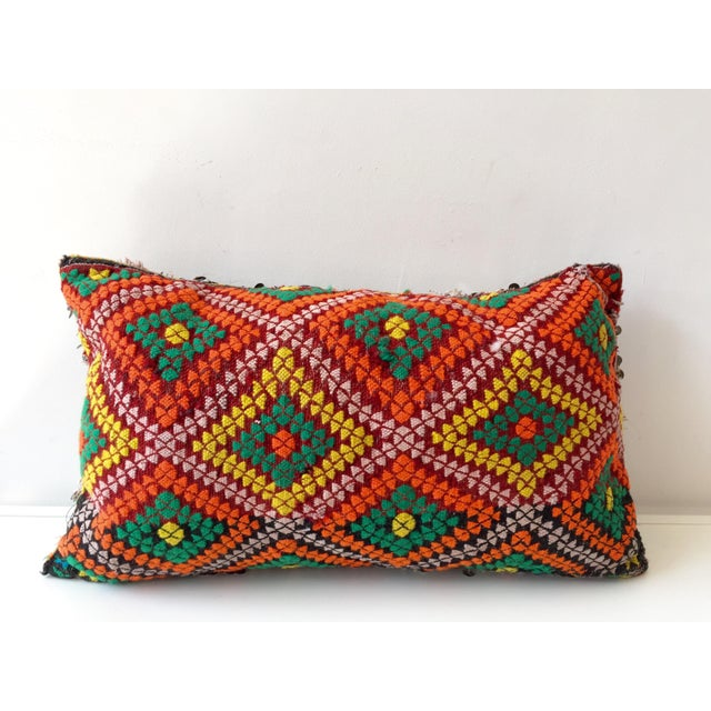 Throw Pillows Malum : Moroccan Dhurrie Throw Pillow Chairish