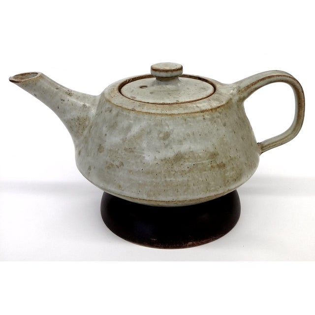 Artisan Stoneware Tea Pot - Image 3 of 10