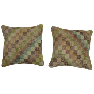 Turkish Deco Rug Pillows - A Pair