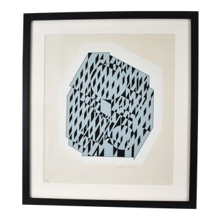 Victor Vasarely Limited Edition Serigraph
