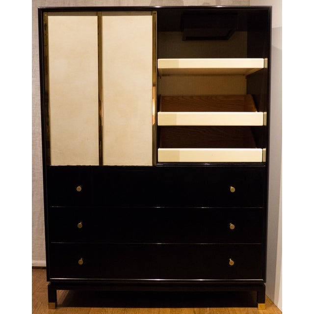 Harvey Probber Cabinet with Sliding Doors - Image 4 of 11