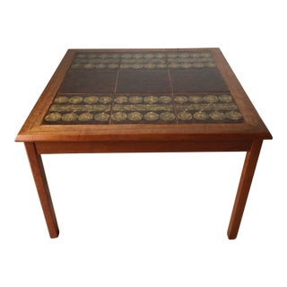 Danish Modern Tile Table-Mobelfabrikken Toften