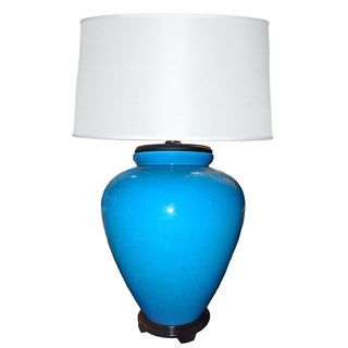 Frederick Cooper Oversize Turquoise Lamp