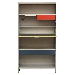 Gispen 5600 Industrial Cabinet/Desk by A.R. Cordemeier