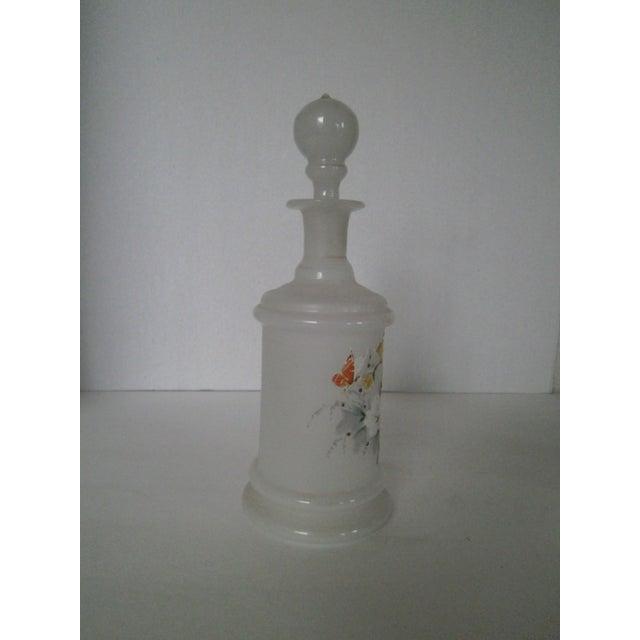 Antique Bristol Glass Decanter - Image 3 of 8