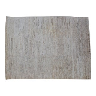 Organic Striated Hemp Rug -