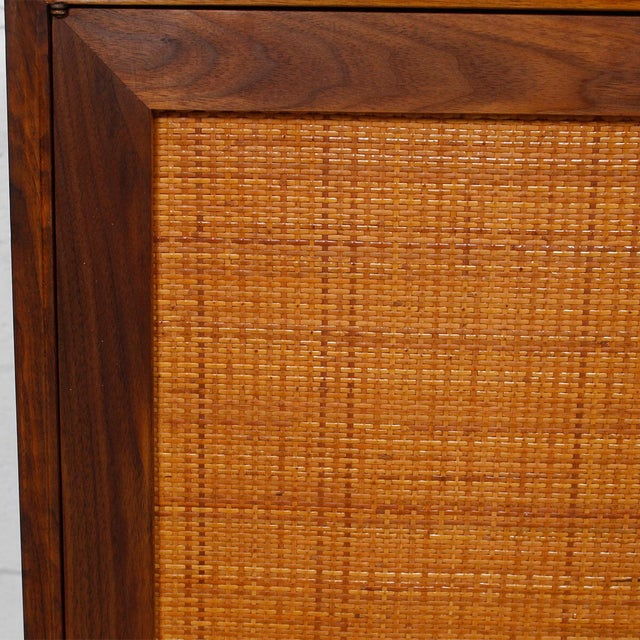 Mid-Century American Modern Walnut Sideboard & Dry Bar - Image 10 of 11