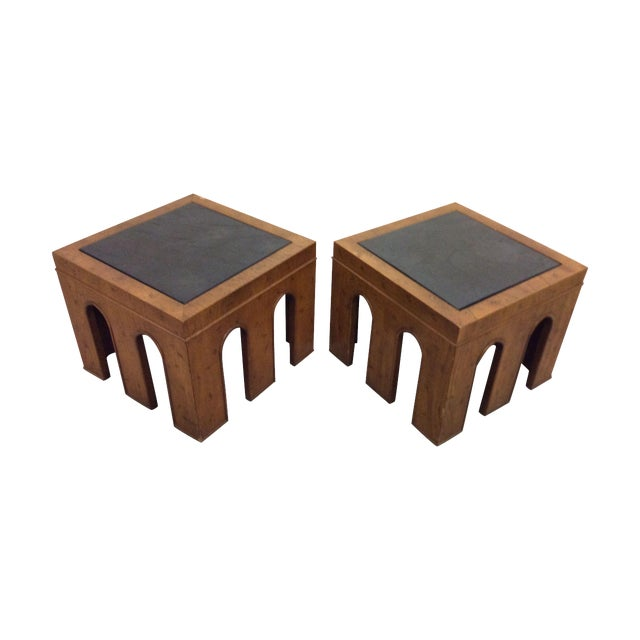 1960s Side Tables by Drexel - A Pair - Image 1 of 11