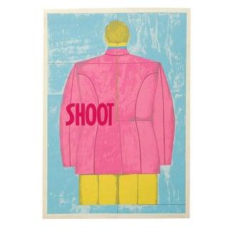 1971 Print by Richard Lindner 'Shoot' (Back)