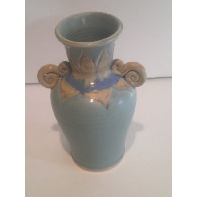1980's Art Pottery Vase - Image 5 of 7