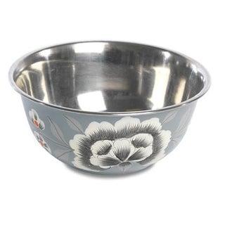Fleur Enamelware Bowls - Set of 4