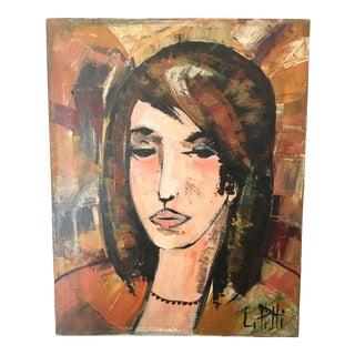 L. Pitti Portrait Oil Painting