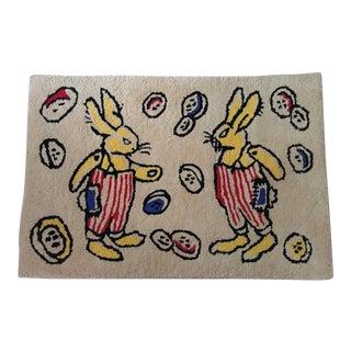1930s Vintage Children's Rug