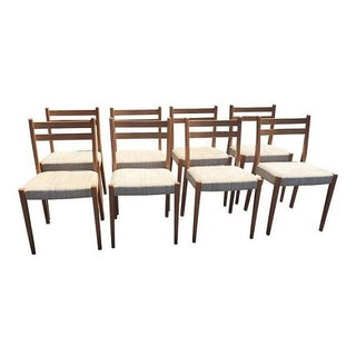 Svegards Markard Teak Dining Chairs - Set of 8