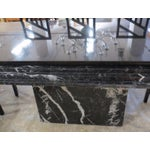 Image of Imported Italian Marble Dining Set