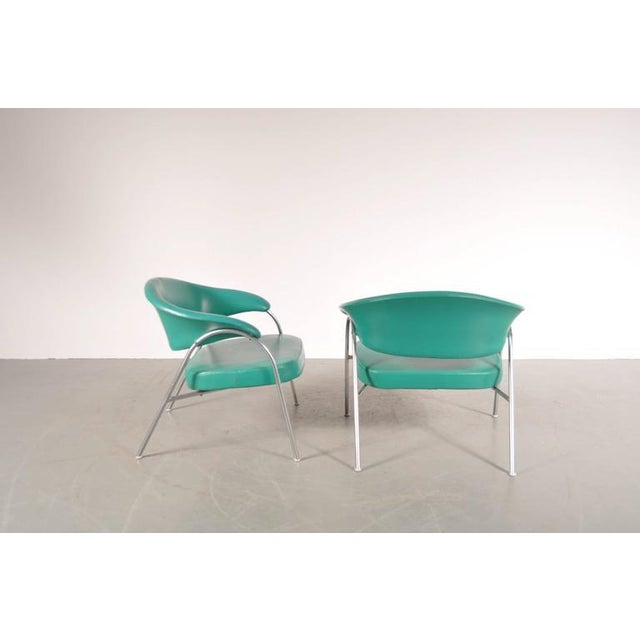Pair of Rare Easy Chairs Produced by Arflex, Italy, circa 1960 - Image 4 of 7